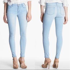 J Brand Journey Mid-Rise Skinny Jean